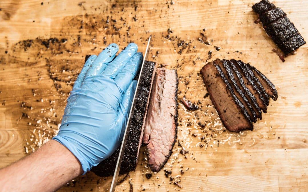 Smoked brisket in Tulum -Brisket ahumado en Tulum